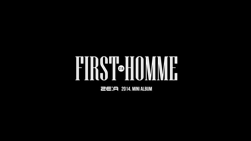 [140529] ZEA New Picture for First Homme (Capture Picture) [1]