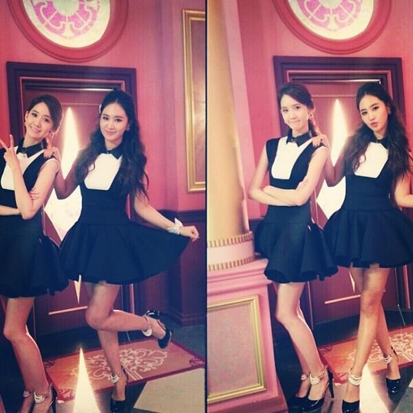 [140530] Yuri (SNSD) New Selca with Yoona