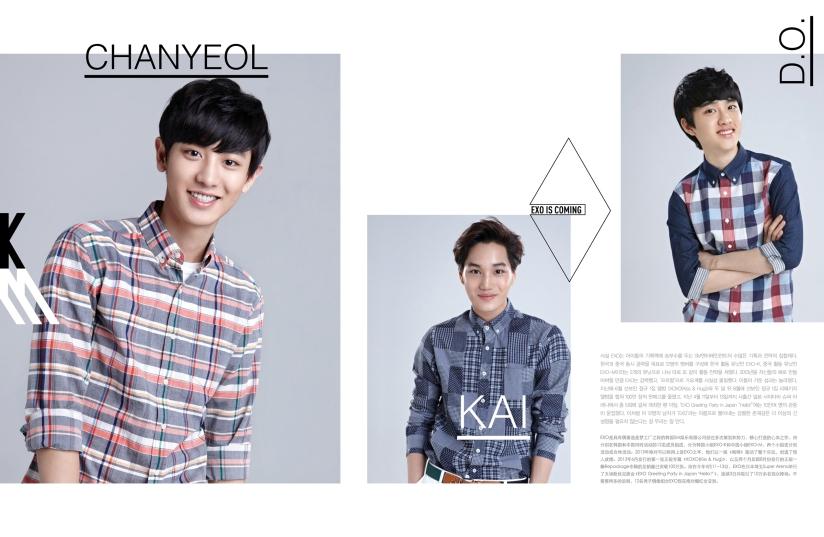 Chanyeol, Kai and DO