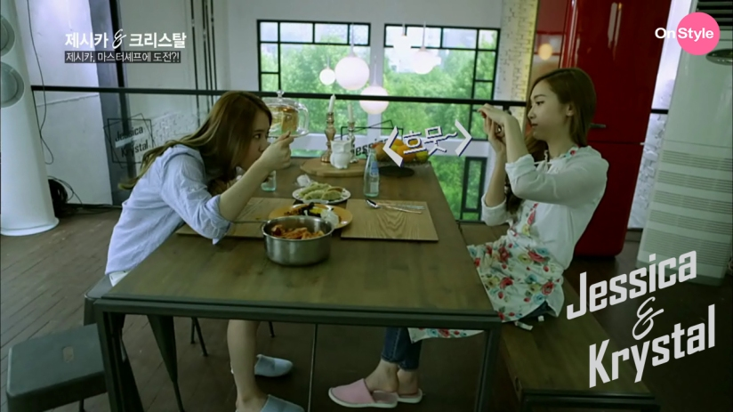 [110614] Jessica (SNSD) & Krystal (F(x)) New Capture Picture from Jessica&Krystal Show EP02 [17]