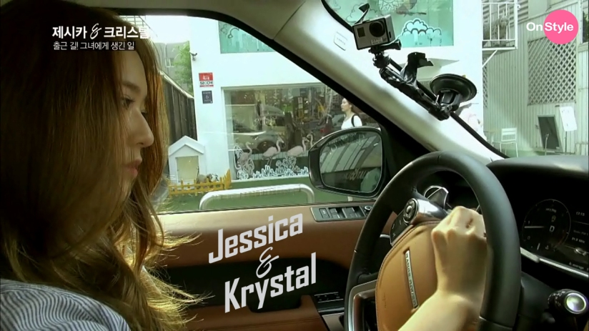 [110614] Jessica (SNSD) & Krystal (F(x)) New Capture Picture from Jessica&Krystal Show EP02 [2]