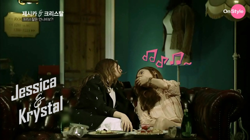 [110614] Jessica (SNSD) & Krystal (F(x)) New Capture Picture from Jessica&Krystal Show EP02 [24]