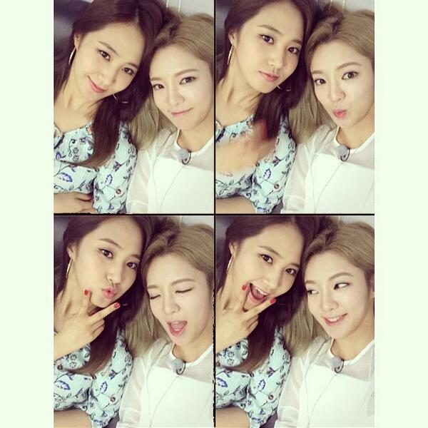 [140603] Hyoyeon (SNSD) New Selca with Yuri
