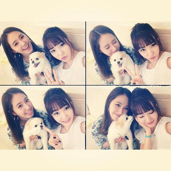 [140603] Yuri (SNSD) New Selca with Tiffany and Hani