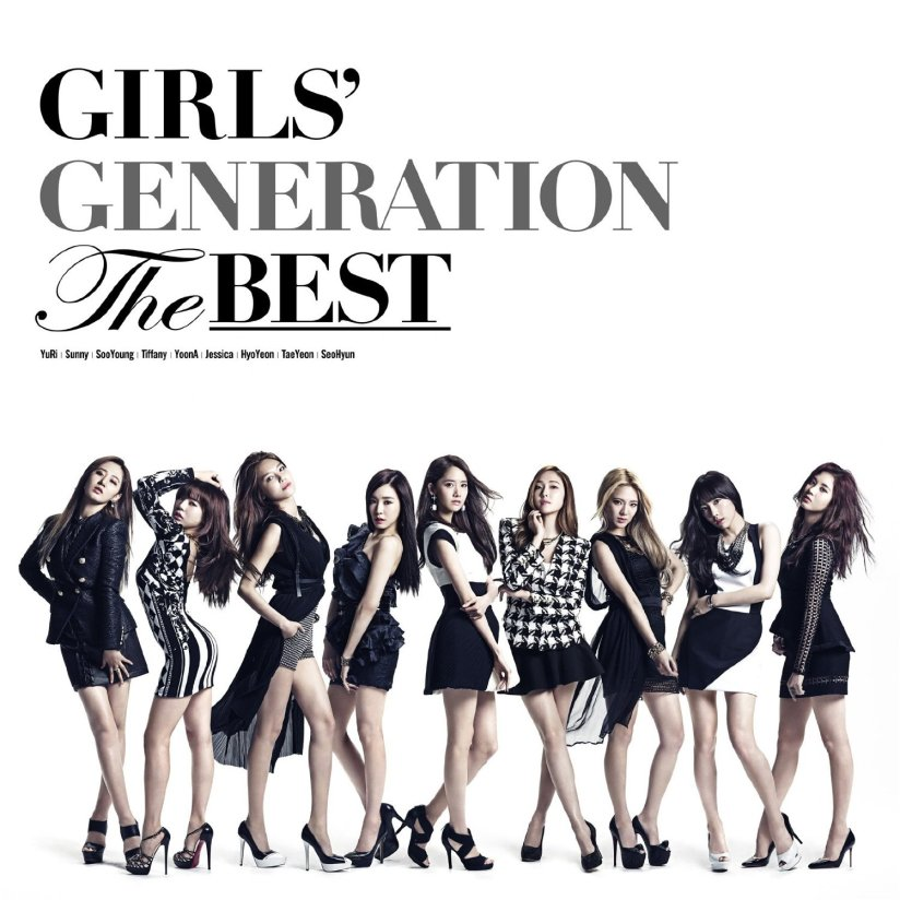 [140604] Girls' Generation (SNSD) Cover The Best (Japanese Album) by amazone [2]