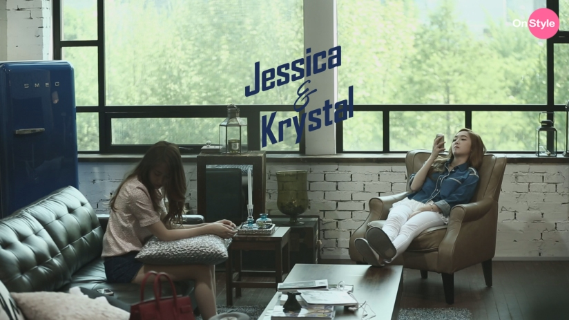 [140604] Jessica (SNSD) & Krystal (F(x)) New Capture Picture from Jessica&Krystal [1]