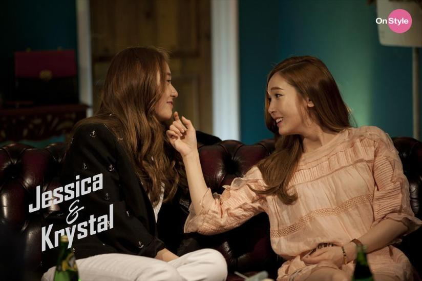 [140604] Jessica (SNSD) & Krystal (F(x)) New Capture Picture from Jessica&Krystal [3]
