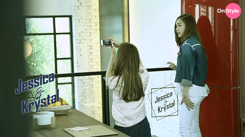 [140604] Jessica (SNSD) & Krystal (F(x)) New Capture Picture from Jessica&Krystal [6]