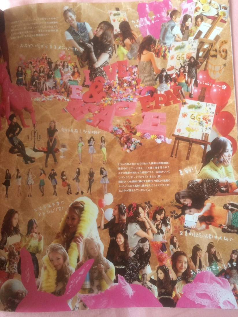[140605] Girls' Generation (SNSD) New Picture for SONE NOTE Vol.3 (Love&Peace Photo Shooting) by Gray_YuRism [2]