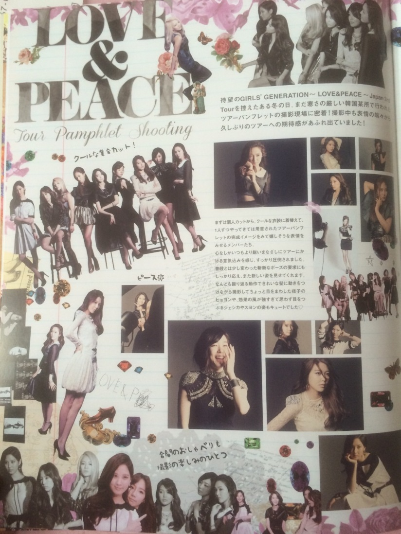 [140605] Girls' Generation (SNSD) New Picture for SONE NOTE Vol.3 (Love&Peace Tour Pamphlet Shooting) by Gray_YuRism [1]