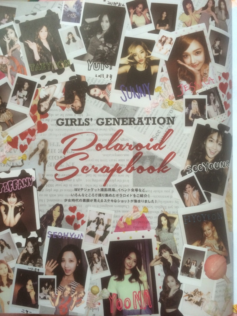 [140605] Girls' Generation (SNSD) New Picture for SONE NOTE Vol.3 (Polaroid Scrapbook) by Gray_YuRism [1]