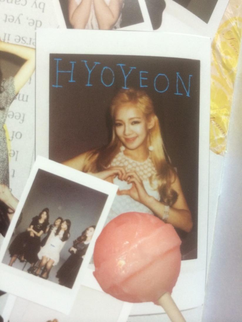 [140605] Hyoyeon (SNSD) for SONE NOTE VOL.3 [4]