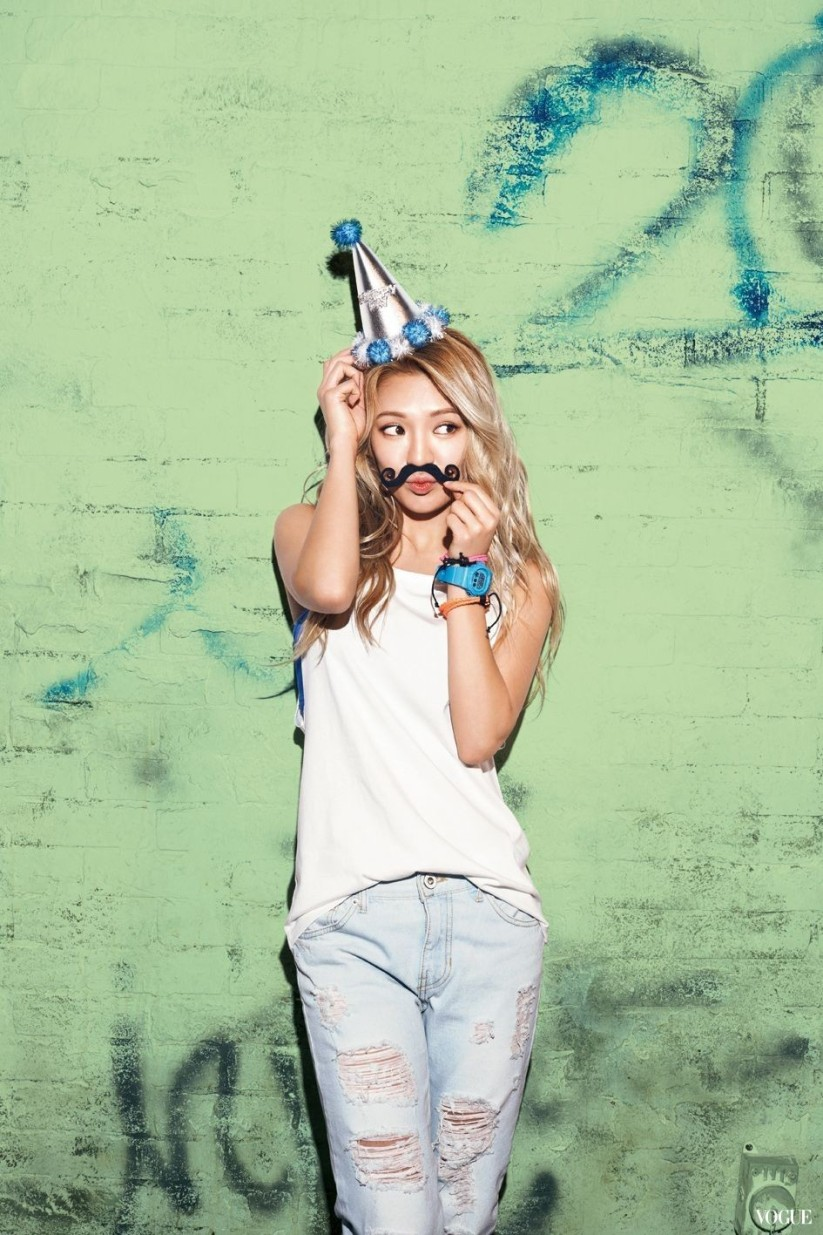 [140605] Hyoyeon (SNSD) New Picture for Casio Baby-G 20th Aniversary CF via Vogue Taiwan