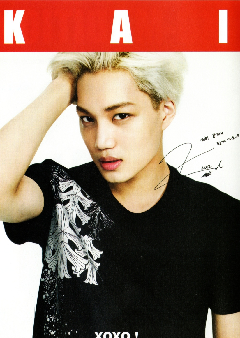 [140605] Kai (EXO) New Picture For Kolon Sport CF (Scan) by 타오구오구