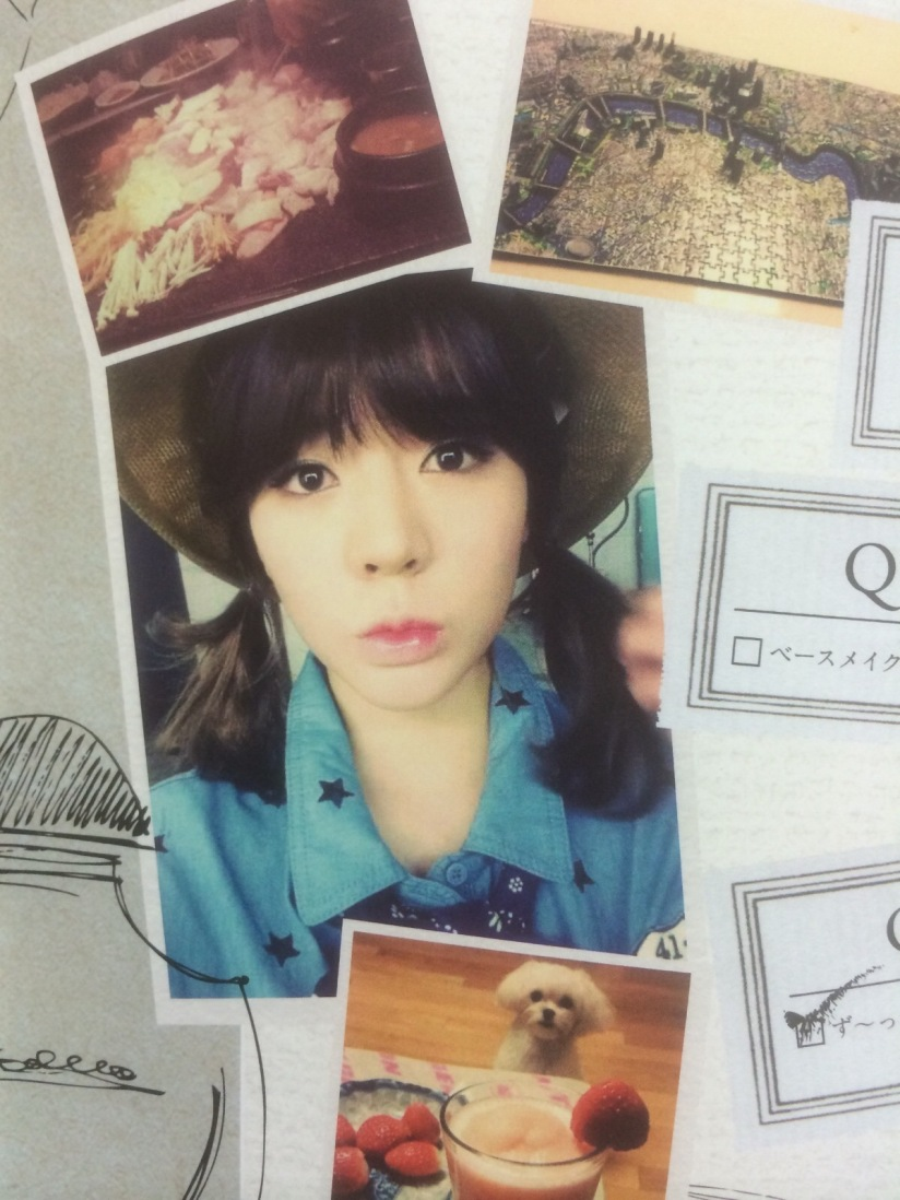 [140605] Sunny (SNSD) for SONE NOTE VOL.3 [4]