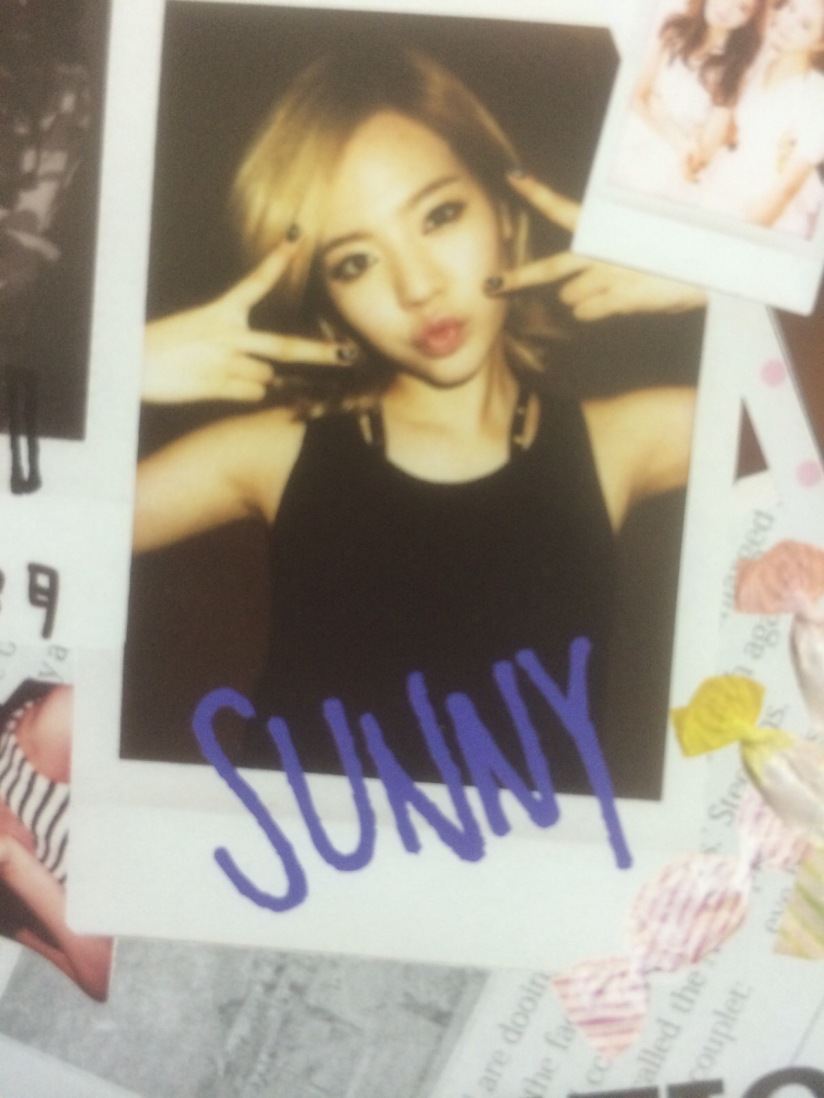 [140605] Sunny (SNSD) for SONE NOTE VOL.3 [6]