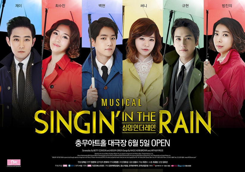 [140605] Sunny (SNSD) New Picture for Singing In The Rain Musical (Poster)