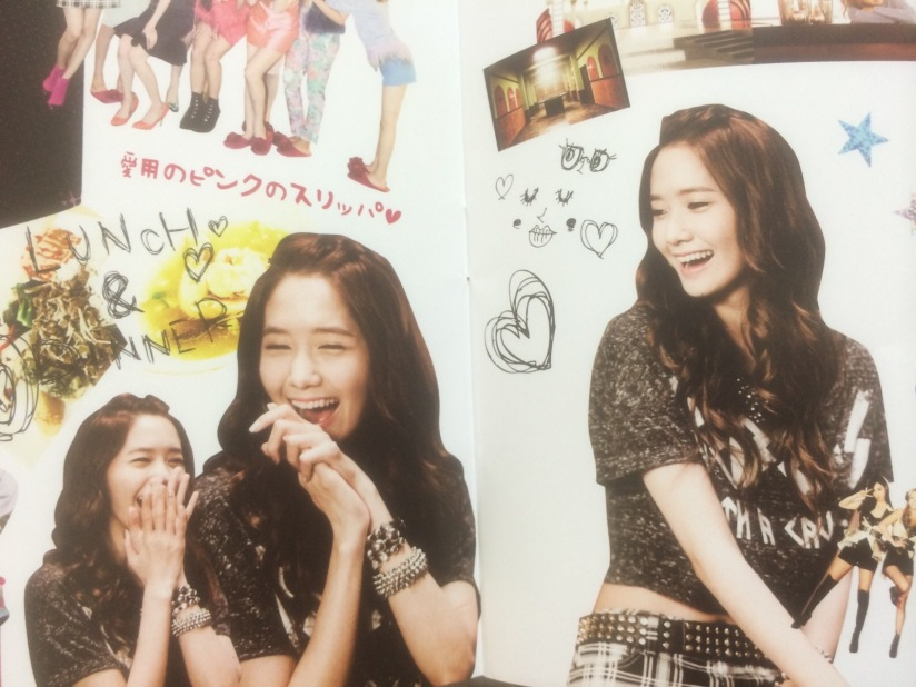 [140605] Yoona (SNSD) for SONE NOTE VOL.3 [2]
