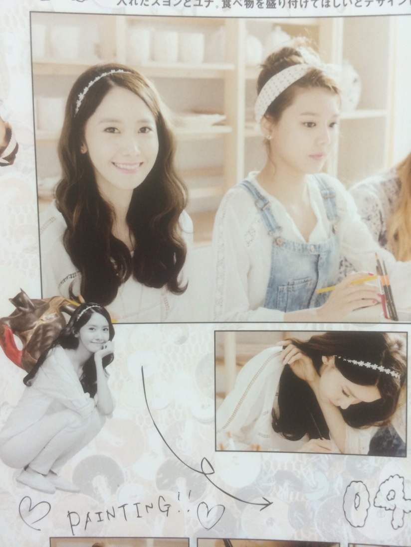[140605] Yoona (SNSD) for SONE NOTE VOL.3 [6]