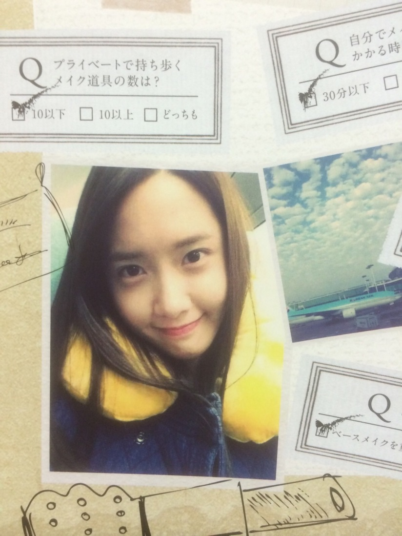 [140605] Yoona (SNSD) for SONE NOTE VOL.3 [8]
