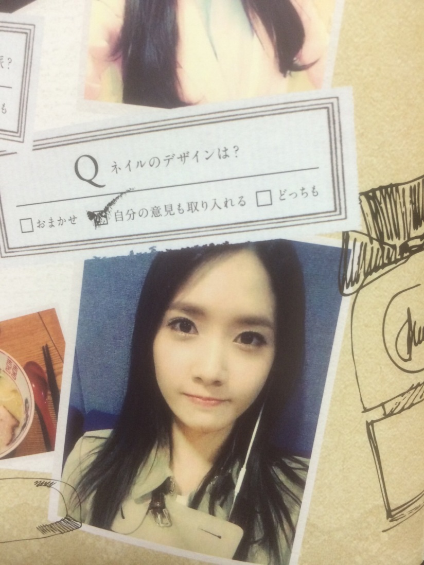 [140605] Yoona (SNSD) for SONE NOTE VOL.3 [9]