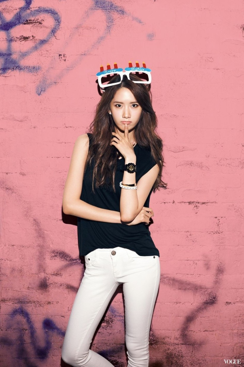[140605] Yoona (SNSD) New Picture for Casio Baby-G 20th Aniversary CF via Vogue Taiwan
