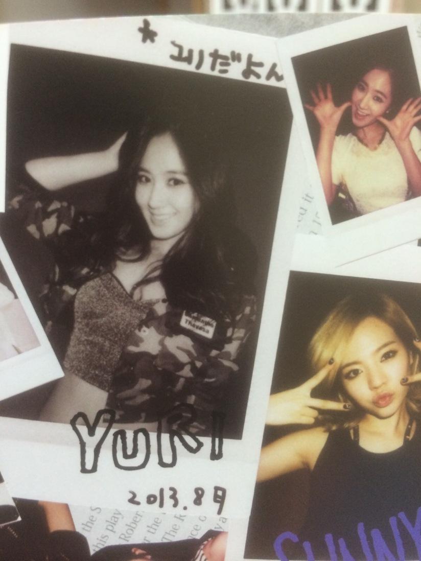 [140605] Yuri (SNSD) for SONE NOTE VOL.3 [7]