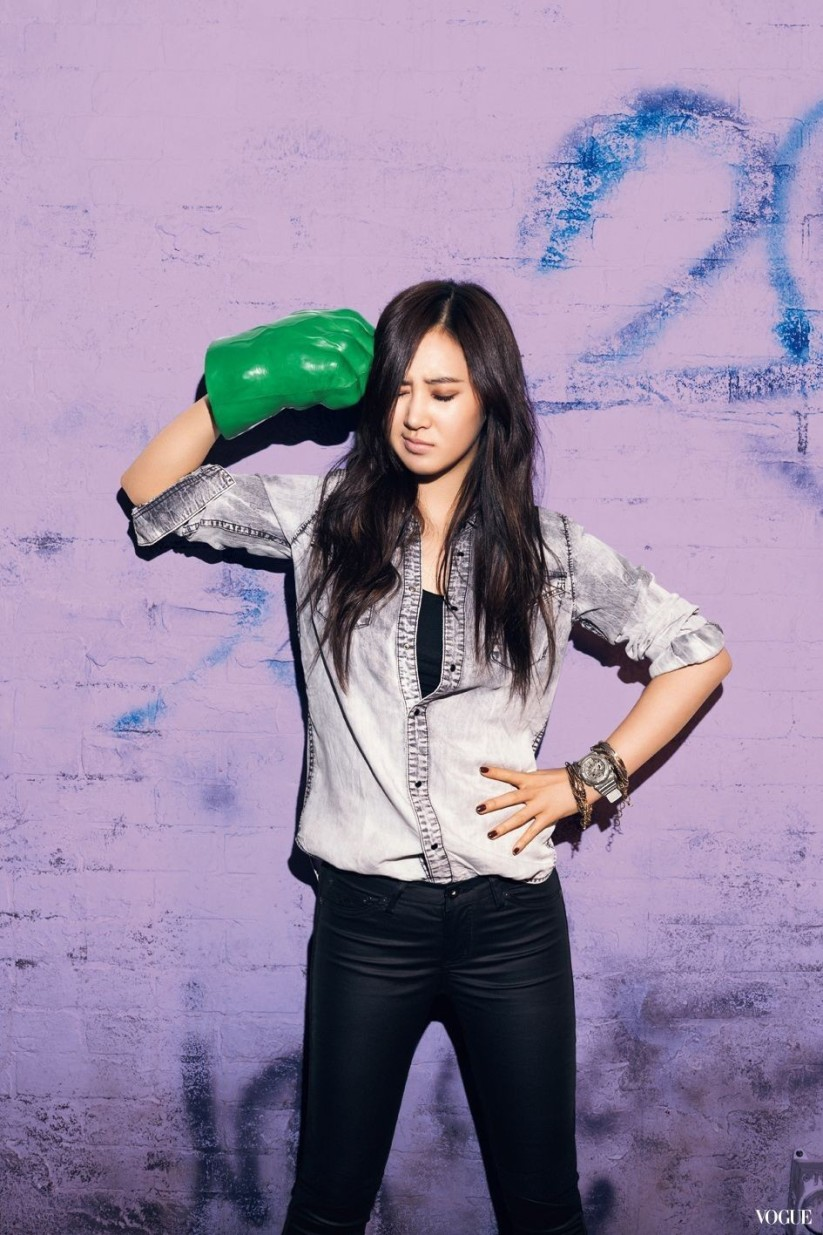 [140605] Yuri (SNSD) New Picture for Casio Baby-G 20th Aniversary CF via Vogue Taiwan