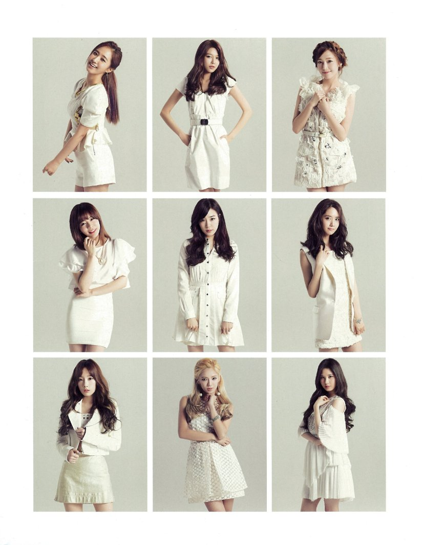 [140606] Girls' Generation (SNSD) New Picture for SONE NOTE VOL.3 (Scan) by 超级学霸祐 [2]