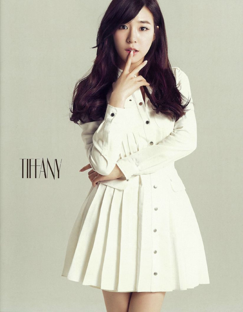 [140606] Tiffany (SNSD) New Picture for SONE NOTE VOL.3 (Scan) by 超级学霸祐 [1]