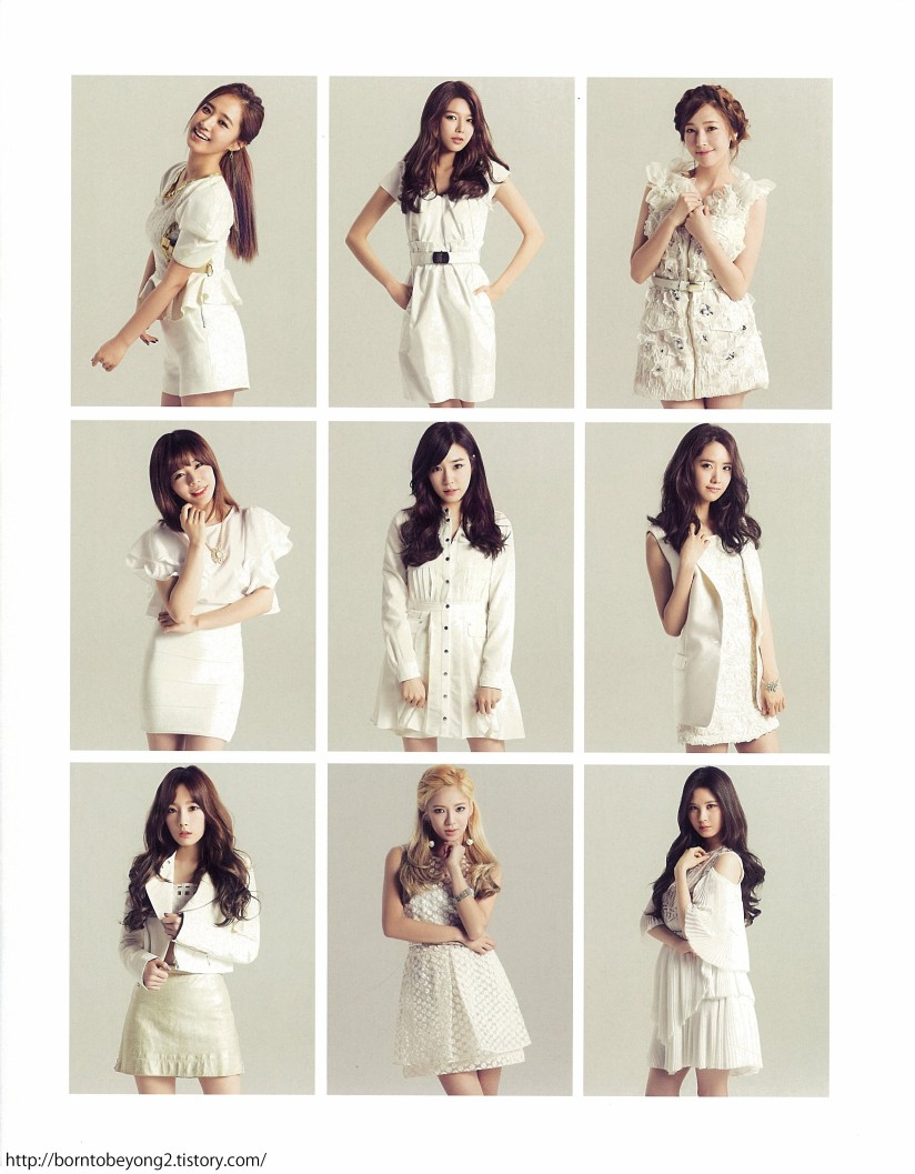 [140608] Girls' Generation (SNSD) for SONE NOTE VOL.3 (Scan) by borntobeyong2 [12]