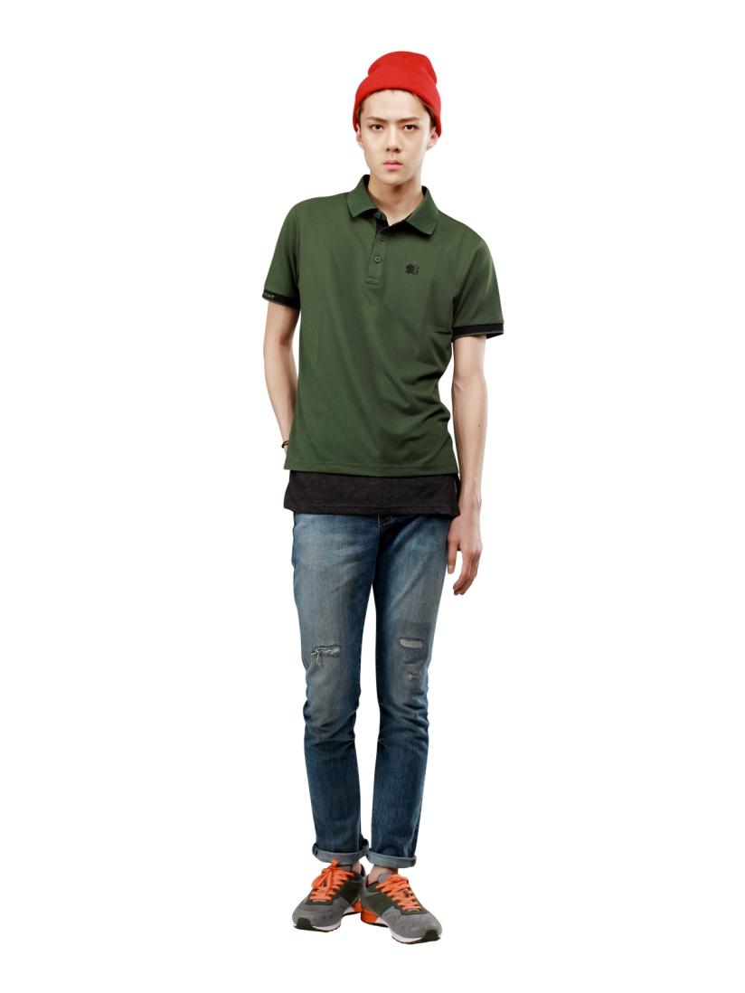 [140609] Sehun (EXO) New Picture for Kolon Sport CF [2]