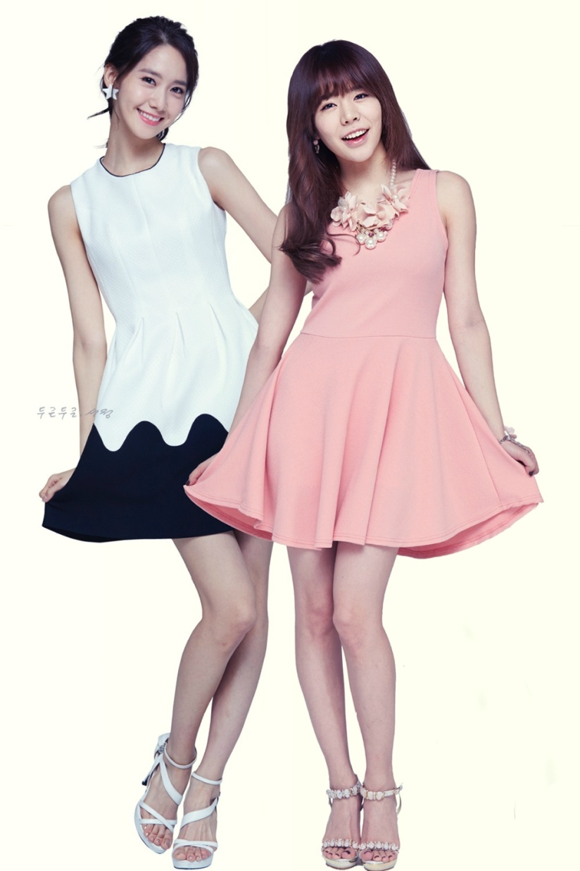 [140613] Yoona & Sunny (SNSD) New Picture for Lotte Department Store CF (Scan) by SeoJeong [2]