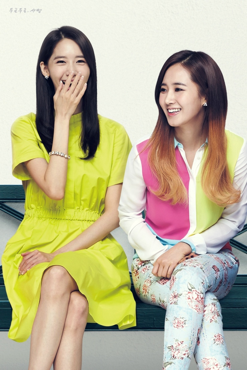 [140613] Yoona & Yuri (SNSD) New Picture for Lotte Department Store CF (Scan) by SeoJeong [1]
