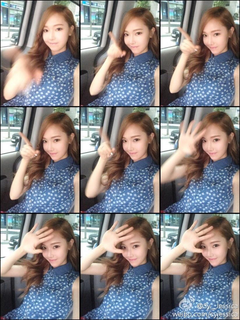 [140614] Jessica (SNSD) New Selca