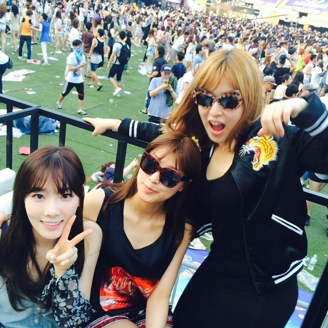 [140615] Taeyeon (SNSD) New Selca via 서수경's Instagram [2]