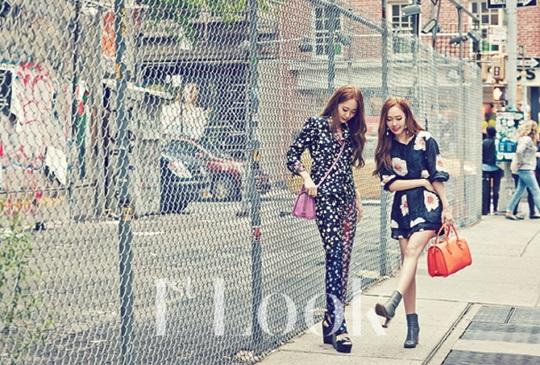 [140617] Jessica (SNSD) & Krystal (F(x)) @ 1st Look Magazine Issue July 2014 via DAUM [3]