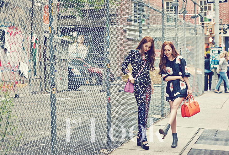 [140617] Jessica (SNSD) & Krystal (F(x)) @ 1st Look Magazine Vol.70 Issue July 2014 [10]
