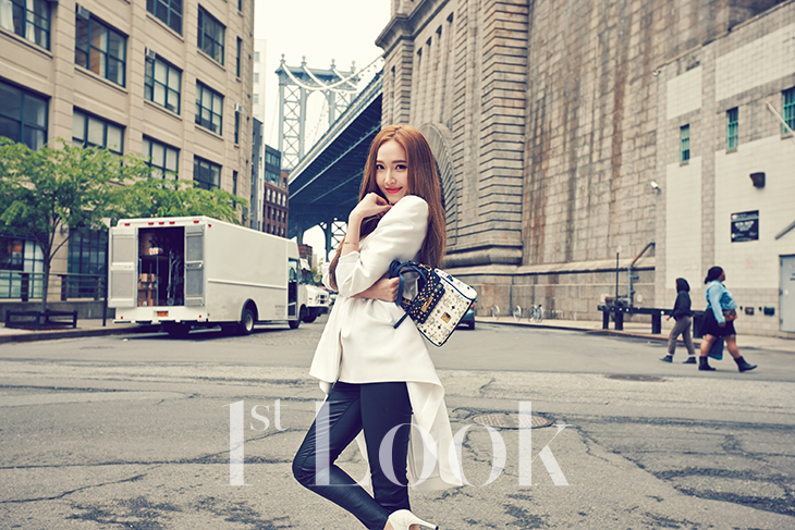 [140617] Jessica (SNSD) & Krystal (F(x)) @ 1st Look Magazine Vol.70 Issue July 2014 [11]