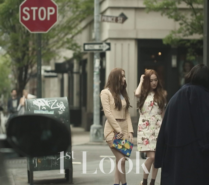 [140617] Jessica (SNSD) & Krystal (F(x)) @ 1st Look Magazine Vol.70 Issue July 2014 [16]
