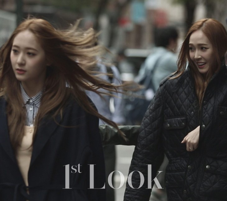 [140617] Jessica (SNSD) & Krystal (F(x)) @ 1st Look Magazine Vol.70 Issue July 2014 [17]