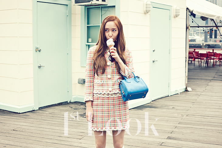 [140617] Jessica (SNSD) & Krystal (F(x)) @ 1st Look Magazine Vol.70 Issue July 2014 [6]