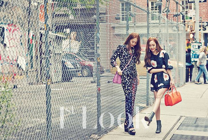 [140617] Jessica (SNSD) & Krystal (F(x)) @ 1st Look Magazine Vol.70 Issue July 2014 via OnStyle's Facebook [3]
