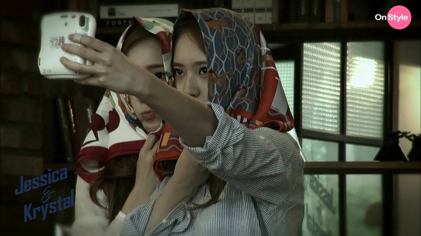 [140617] Jessica (SNSD) & Krystal (F(x)) New Capture Picture from Jessica&Krystal Show EP03 [1]