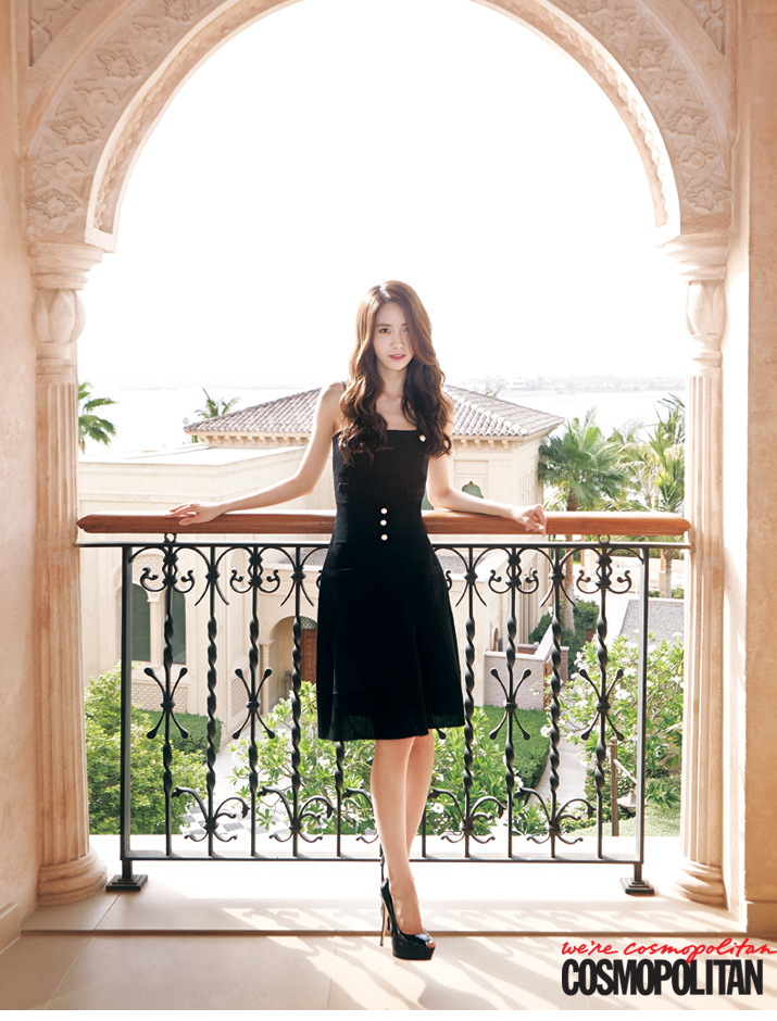 [140619] Yoona (SNSD) @ Cosmopolitan Magazine Issue July 2014 [1]