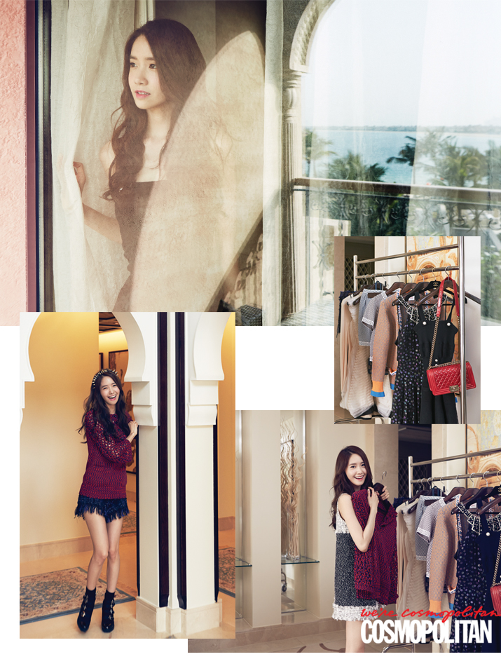 [140619] Yoona (SNSD) @ Cosmopolitan Magazine Issue July 2014 [2]