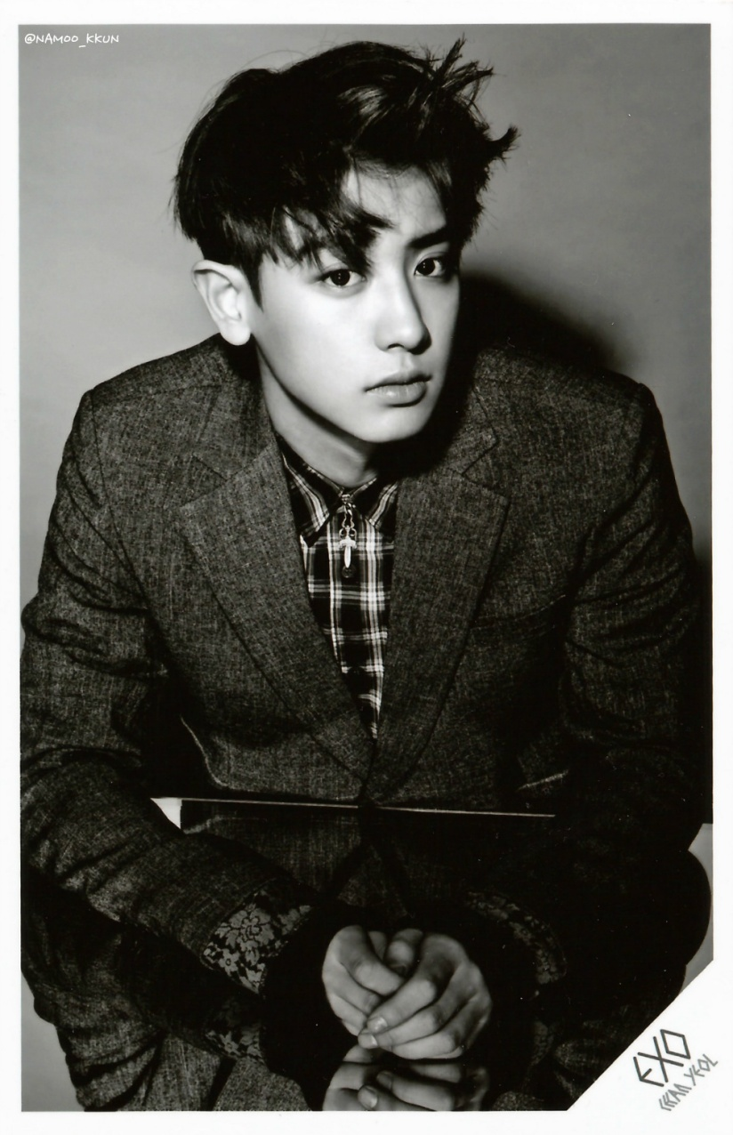 [140621] Chanyeol (EXO) OVERDOSE SD CARD SET A POP-UP STORE (Scan) by NAMOO_KKUN