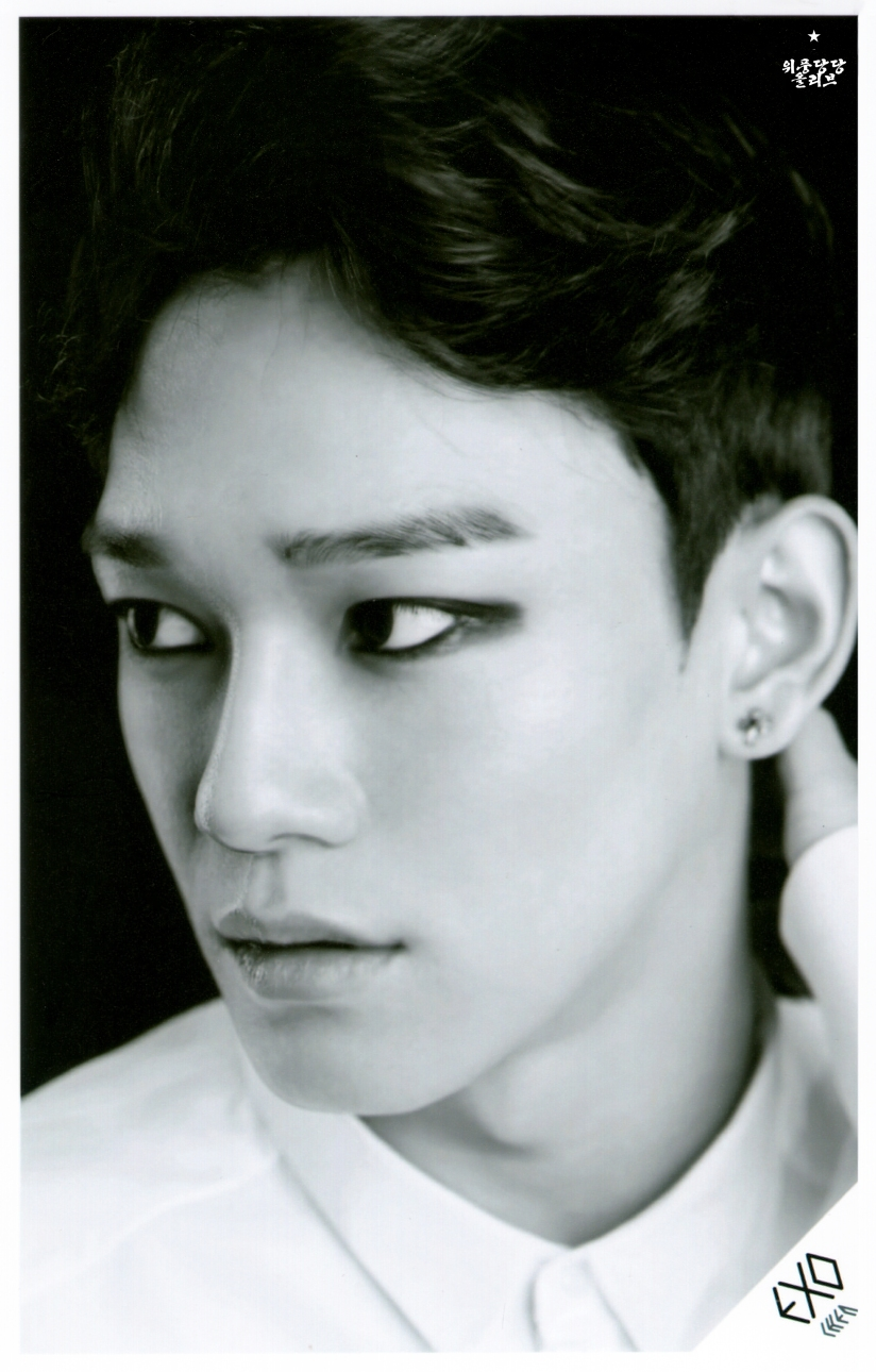 [140621] Chen (EXO) OVERDOSE SD CARD SET B POP-UP STORE (Scan) by OliV_xoxo