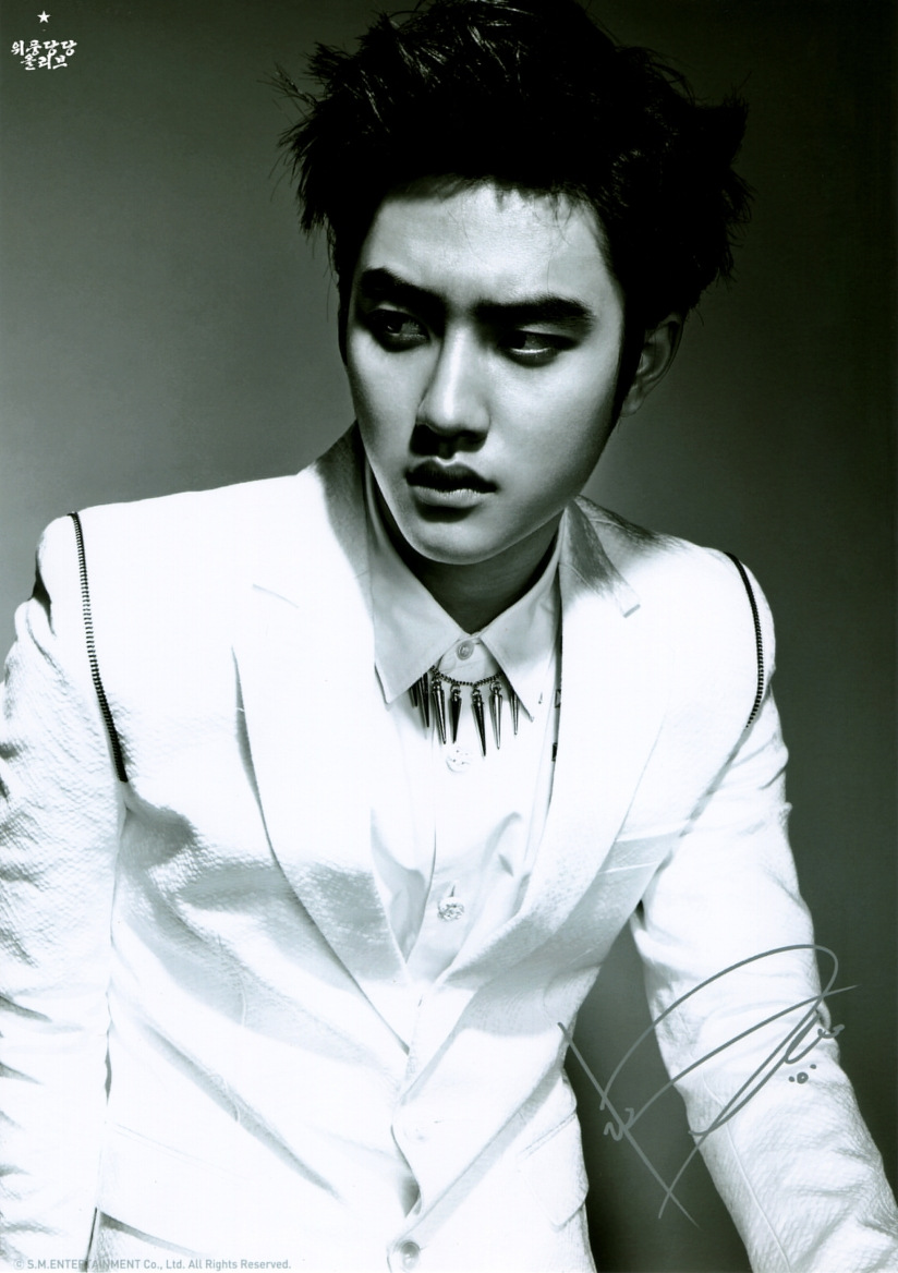 [140621] D.O (EXO) OVERDOSE A4인화사진 @ POP-UP STORE (Scan) by OliV_xoxo [1]