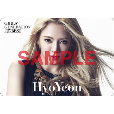 [140621] Hyoyeon (SNSD) Preview for 'The Best' Music Cards